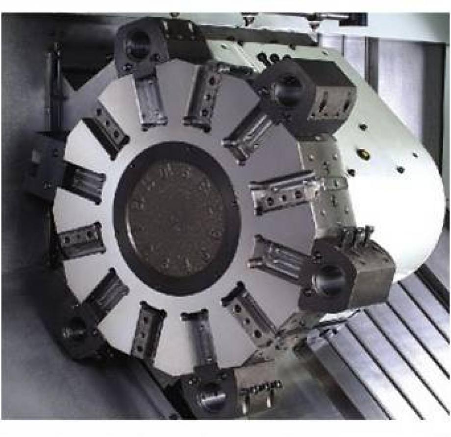 HORIZONTAL CNC TURNING CENTER   HI TECH 700