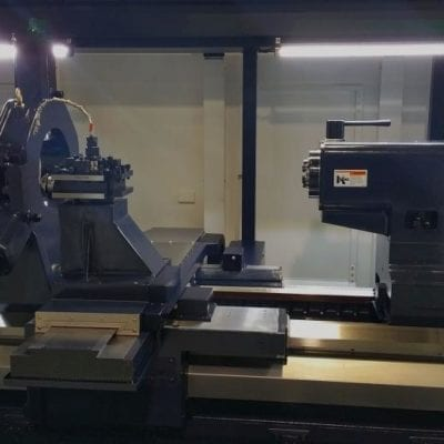 FLAT BED CNC TURNING CENTER | MEGA 110