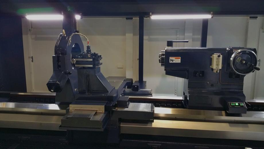 FLAT BED CNC TURNING CENTER | MEGA 110