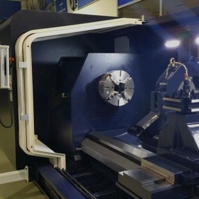 BIG BORE CNC TURNING CENTER | HI TECH 850 BB+ | HWACHEON EURO