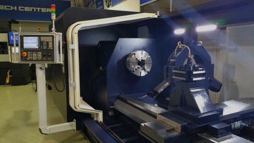 BIG BORE CNC TURNING CENTER   HI TECH 850 BB+   HWACHEON EURO