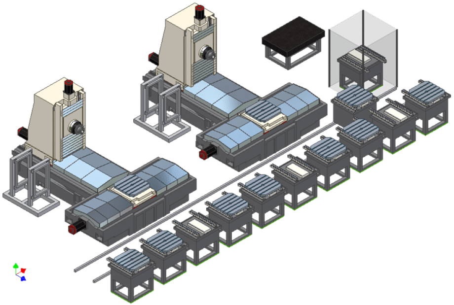 HORIZONTAL CNC MACHINING CENTER | AF 16
