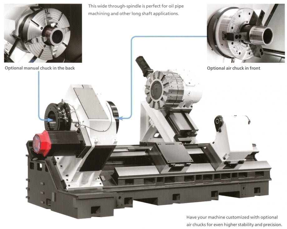 HORIZONTAL CNC TURNING CENTER| HI TECH 550