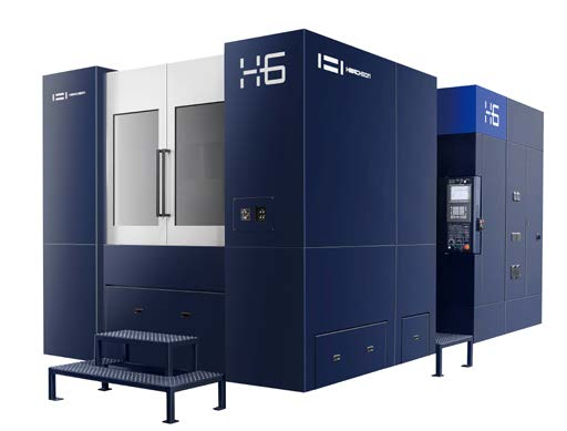HORIZONTAL CNC MACHINING CENTER \H6