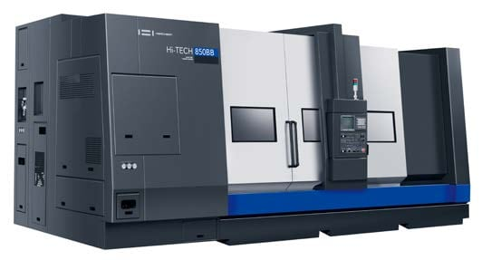 BIG BORE CNC TURNING CENTER | HI-TECH 850BB+