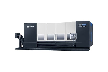 TRAVELLING COLUMN CNC MACHINING CENTER | HiREX-5000