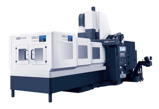 DOUBLE COLUMN CNC MACHINING CENTER | SIRIUS-1250