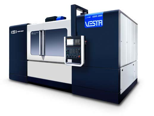 VERTICAL CNC MACHINING CENTER | VESTA-200