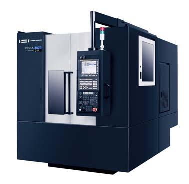 VERTICAL CNC MACHINING CENTER | VESTA-500T