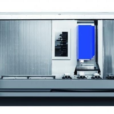 TRAVELLING COLUMN CNC MACHINING CENTER | Hirex 4000